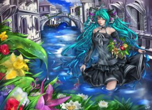 Rating: Safe Score: 11 Tags: dress hatsune_miku sukya vocaloid User: gnarf1975
