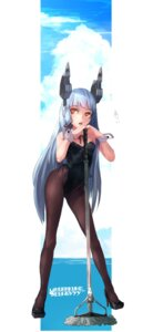 Rating: Safe Score: 55 Tags: bunny_girl cleavage heels kantai_collection kumonji_aruto murakumo_(kancolle) nopan pantyhose User: Mr_GT