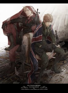 Rating: Safe Score: 12 Tags: denmark hetalia_axis_powers joy male uniform united_kingdom User: Radioactive