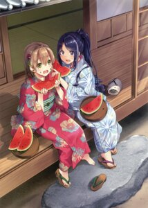 Rating: Safe Score: 20 Tags: otabe_sakura tagme yukata User: Twinsenzw