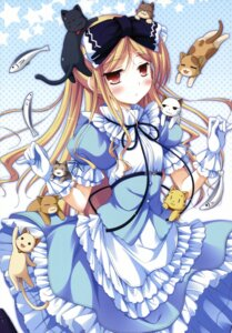 Rating: Safe Score: 63 Tags: avril ko~cha lolita_fashion neko shukufuku_no_campanella User: Radioactive