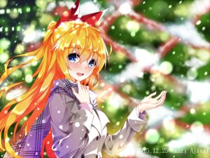 Rating: Safe Score: 55 Tags: akari_ajisai christmas kirisaki_chitoge nisekoi official_watermark User: mattiasc02