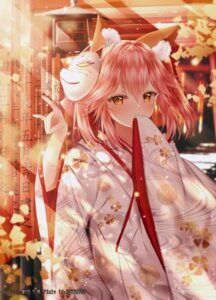 Rating: Safe Score: 55 Tags: animal_ears fate/extra fate/grand_order fate/stay_night japanese_clothes junpaku_karen tamamo_no_mae User: Mr_GT