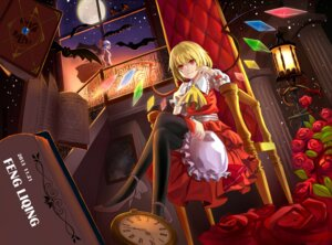 Rating: Safe Score: 20 Tags: flandre_scarlet heels remilia_scarlet thighhighs touhou wings User: Humanpinka