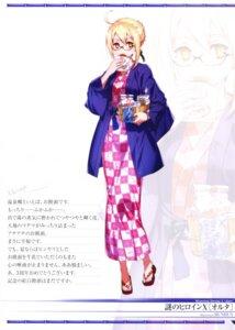 Rating: Safe Score: 13 Tags: bunbun fate/grand_order heroine_x_alter megane screening yukata User: Nepcoheart