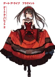 Rating: Safe Score: 64 Tags: cleavage date_a_live dress gothic_lolita heterochromia lolita_fashion noco see_through skirt_lift tokisaki_kurumi User: kiyoe