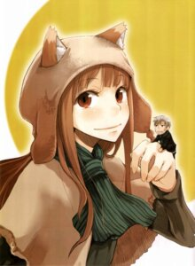 Rating: Safe Score: 22 Tags: animal_ears ayakura_juu craft_lawrence crease holo scanning_artifacts scanning_dust spice_and_wolf User: blooregardo