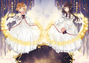 Rating: Safe Score: 21 Tags: card_captor_sakura daidouji_tomoyo dress kinomoto_sakura mig_(36th_underground) wings User: RyuZU