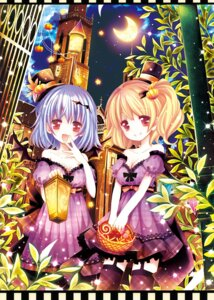 Rating: Safe Score: 29 Tags: catbell dress flandre_scarlet remilia_scarlet stockings thighhighs touhou User: fireattack