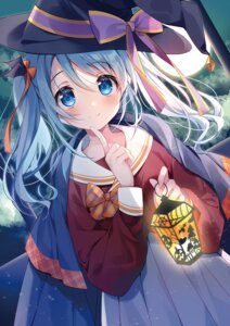 Rating: Questionable Score: 37 Tags: halloween seifuku sesera suimya witch User: Twinsenzw