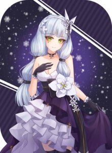 Rating: Questionable Score: 19 Tags: breast_hold cleavage dress girls_frontline hk416_(girls_frontline) nani_(goodrich) thighhighs User: Dreista
