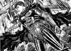Rating: Safe Score: 3 Tags: berserk guts male monochrome User: Radioactive