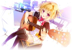 Rating: Safe Score: 56 Tags: campus guitar koioto_se_piace kurumi_hana seifuku thighhighs tonchan User: moonian