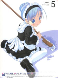 Rating: Safe Score: 14 Tags: maid moetan pastel_ink pop queen's_gate User: petopeto