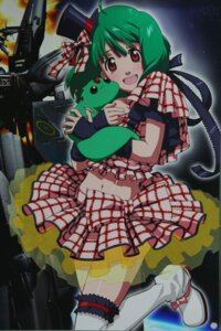 Rating: Safe Score: 9 Tags: ai-kun lolita_fashion macross macross_frontier mecha ranka_lee see_through thighhighs User: lilith7
