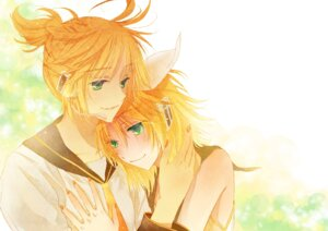 Rating: Safe Score: 3 Tags: kagamine_len kagamine_rin platinumcorundum vocaloid User: Radioactive