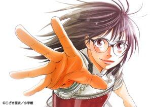 Rating: Safe Score: 6 Tags: asahinagu japanese_clothes kozaki_ai megane toujima_asahi User: saemonnokami