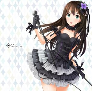 Rating: Safe Score: 62 Tags: cleavage dress emicii shibuya_rin the_idolm@ster the_idolm@ster_cinderella_girls User: Mr_GT