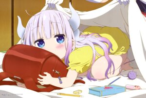 Rating: Safe Score: 142 Tags: dress horns kadowaki_miku kanna_kamui kobayashi-san_chi_no_maid_dragon tail User: drop