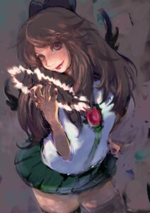 Rating: Safe Score: 5 Tags: peg_(orion) reiuji_utsuho touhou User: charunetra