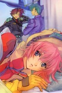 Rating: Safe Score: 7 Tags: ichimura_yuu mizuho_saiki raji_montoya raul_greden super_robot_wars User: Share