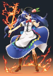 Rating: Safe Score: 6 Tags: gengorou hinanawi_tenshi touhou User: konstargirl