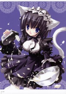 Rating: Questionable Score: 17 Tags: animal_ears gothic_lolita lolita_fashion maid nekomimi nusunde_lilith tinkle User: fireattack