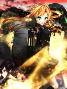 Rating: Safe Score: 33 Tags: abukuma_(kancolle) bike_shorts kantai_collection kitakami_(kancolle) miyakura_shiiha seifuku weapon User: Mr_GT