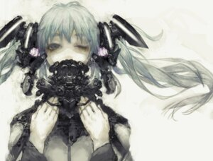 Rating: Safe Score: 24 Tags: hatsune_miku mecha_musume sugimoto_gang vocaloid User: Metalic