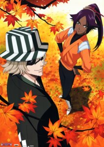 Rating: Safe Score: 11 Tags: bleach shihouin_yoruichi urahara_kisuke User: Radioactive