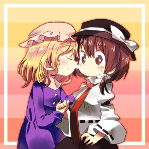 Rating: Safe Score: 4 Tags: chibi maribel_han pallet touhou usami_renko yuri User: Radioactive