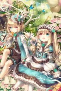 Rating: Safe Score: 38 Tags: alicia_rose allen_rose bloomers dress heterochromia lolita_fashion yumeichigo_alice User: charunetra