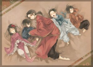 Rating: Safe Score: 9 Tags: china denko hetalia_axis_powers hong_kong japan korea taiwan User: yumichi-sama
