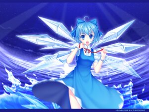 Rating: Safe Score: 15 Tags: 33paradox cirno touhou wallpaper wings User: qier