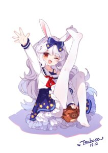 Rating: Safe Score: 24 Tags: animal_ears bunny_ears feet pantyhose seifuku skirt_lift tsubasa_tsubasa User: Radioactive
