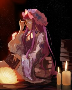 Rating: Safe Score: 8 Tags: cleavage dress megane patchouli_knowledge tagme touhou User: Mr_GT