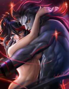 Rating: Questionable Score: 35 Tags: kill_la_kill matoi_ryuuko naked sakimichan senketsu User: sylver650
