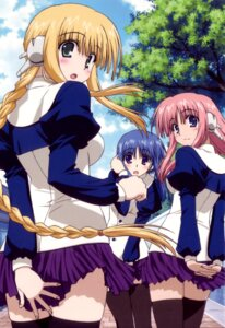 Rating: Safe Score: 10 Tags: ilfa milfa silfa thighhighs to_heart_2 to_heart_2_another_days to_heart_(series) User: Onpu