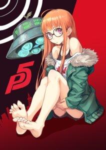 Rating: Safe Score: 41 Tags: feet hinoki_yuu megane persona_5 sakura_futaba User: saemonnokami