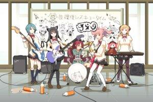 Rating: Safe Score: 20 Tags: akemi_homura animal_ears charlotte_(puella_magi_madoka_magica) guitar hy136 k-on! kaname_madoka kyubey miki_sayaka nekomimi pantyhose parody puella_magi_madoka_magica sakura_kyouko seifuku thighhighs tomoe_mami User: ThisIsDK