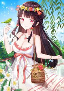 Rating: Safe Score: 27 Tags: cleavage dress houchi_shoujo iren_lovel summer_dress User: Dreista