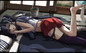 Rating: Questionable Score: 40 Tags: kantai_collection seifuku tagme thighhighs yahagi_(kancolle) User: Poubelle