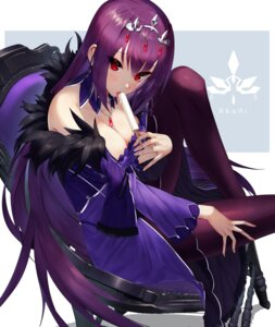 Rating: Safe Score: 41 Tags: cleavage dress fate/grand_order pantyhose scathach_skadi sukocchi User: Mr_GT