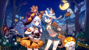 Rating: Safe Score: 29 Tags: animal_ears bandages bili_bili_douga bili_girl_22 bili_girl_33 cleavage flot halloween tail thighhighs wallpaper wings witch User: Mr_GT