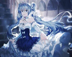 Rating: Safe Score: 42 Tags: dress gocoli hatsune_miku vocaloid yuki_miku User: Mr_GT