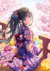 Rating: Safe Score: 58 Tags: akasaka_asa kimono User: saemonnokami