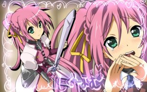 Rating: Safe Score: 32 Tags: 467 k-on! mahou_shoujo_lyrical_nanoha mahou_shoujo_lyrical_nanoha_strikers parody signum sword wallpaper User: daemonaf2