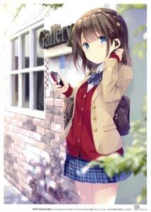 Rating: Safe Score: 77 Tags: ohara_tometa qp:flapper seifuku sweater User: Hatsukoi