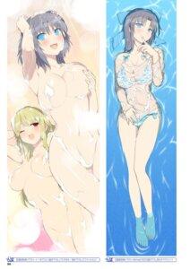 Rating: Questionable Score: 60 Tags: areola bathing bikini breast_hold naked see_through senran_kagura senran_kagura:_peach_beach_splash swimsuits wet wet_clothes yaegashi_nan yumi_(senran_kagura) User: kiyoe
