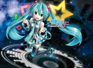 Rating: Safe Score: 23 Tags: hatsune_miku kei kei_garou project_diva tattoo thighhighs vocaloid User: Mr_GT